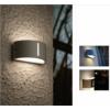 Kép 3/4 - Lutec BONN kültéri fali lámpa E27 fényes rozsdamentes