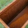Kép 3/3 - COR-TEN®  acél virágtartó 30x80x60
