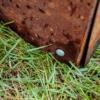Kép 4/4 - Babaan COR-TEN® acél ágyásszegély 20 cm toldó sarok