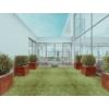 Kép 2/3 - COR-TEN®  acél virágtartó 30x80x60