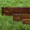 Kép 4/10 - Babaan COR-TEN® acél ágyásszegély 10 cm Fix 300
