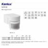 Kép 3/3 - Kanlux SLICK JQ-L-W PIR mozgásérzékelő