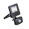 Kép 1/2 - ANTOS LED 10W-NW-SE B kültéri kerti lámpa reflektor mozgásérzékelővel