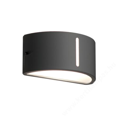 Lutec BONN kültéri fali lámpa E27 szürke porszórt
