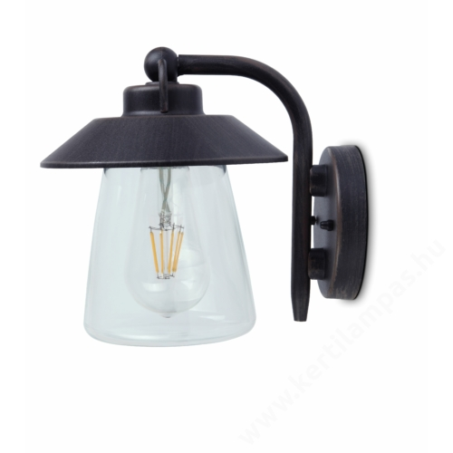Lutec CATE kültéri fali lámpa E27 foglalattal IP44