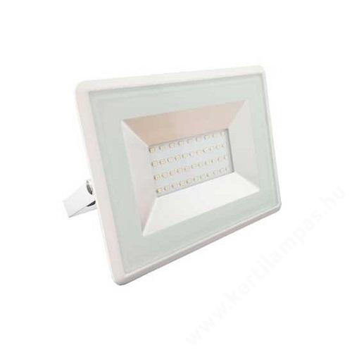 Fehér LED reflektor 20W Meleg fehér 2500 - 3000K