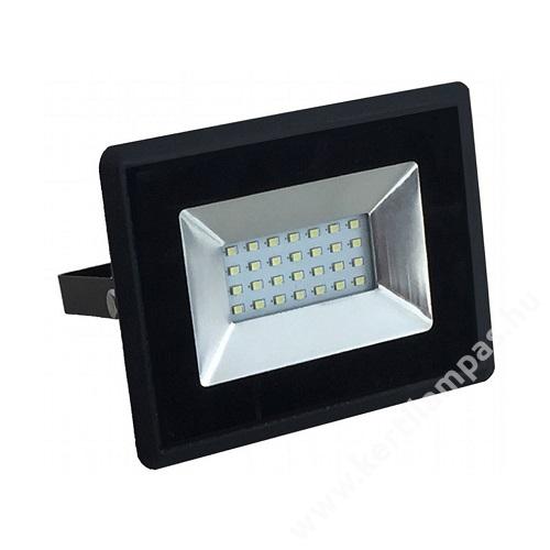 Fekete LED reflektor 10W Hideg fehér 6000 - 6500K