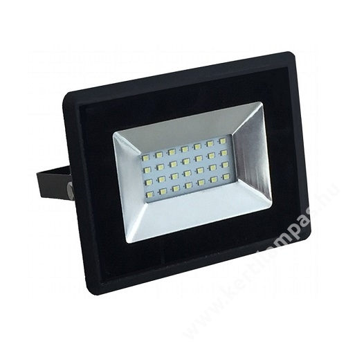 Fekete LED reflektor kerti lámpa 10W Hideg fehér 6000 - 6500K