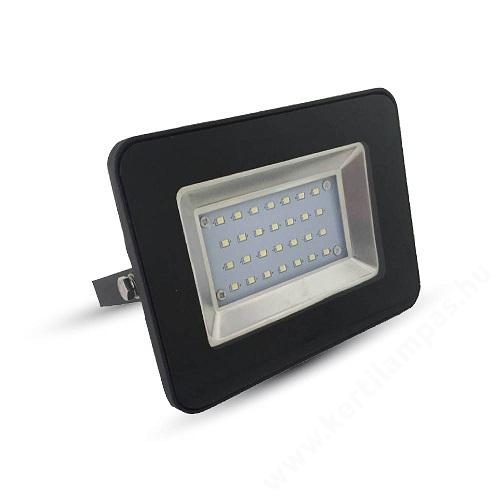 Fekete LED reflektor 20W Meleg fehér 2500 - 3000K