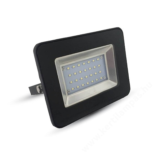 Fekete LED reflektor kerti lámpa 20W Semleges fehér 4000 - 4500K