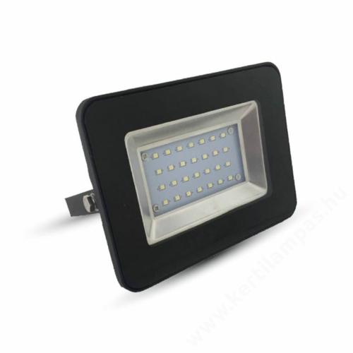 Fekete LED kerti lámpa reflektor 30W Meleg fehér 2500 - 3000K
